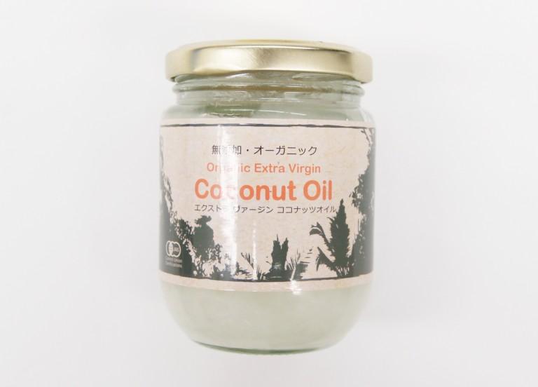 画像A:ココナッツオイル