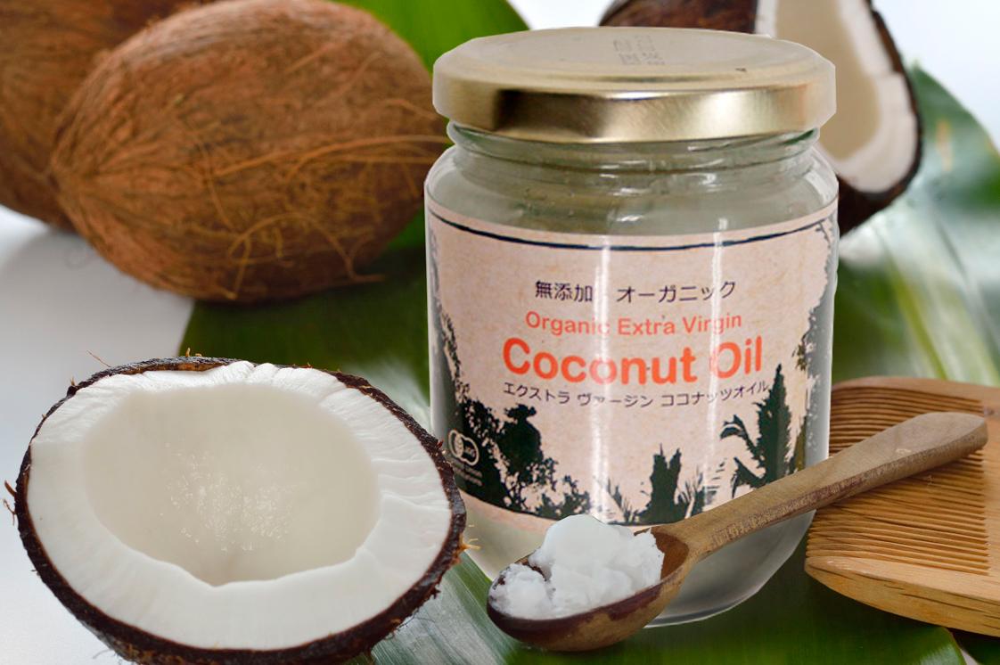 大画像A:ココナッツオイル