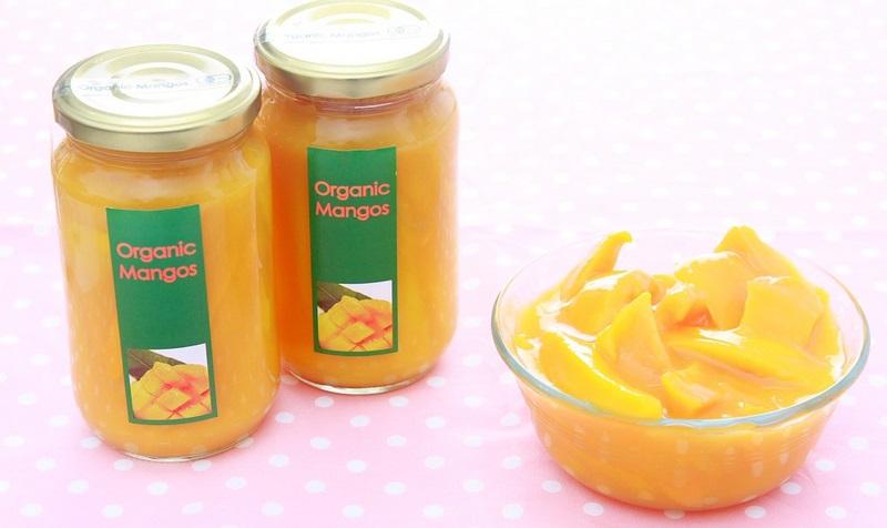 大画像A:マンゴーの果汁つけ