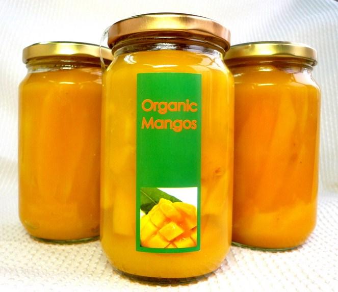 画像A:マンゴーの果汁つけ